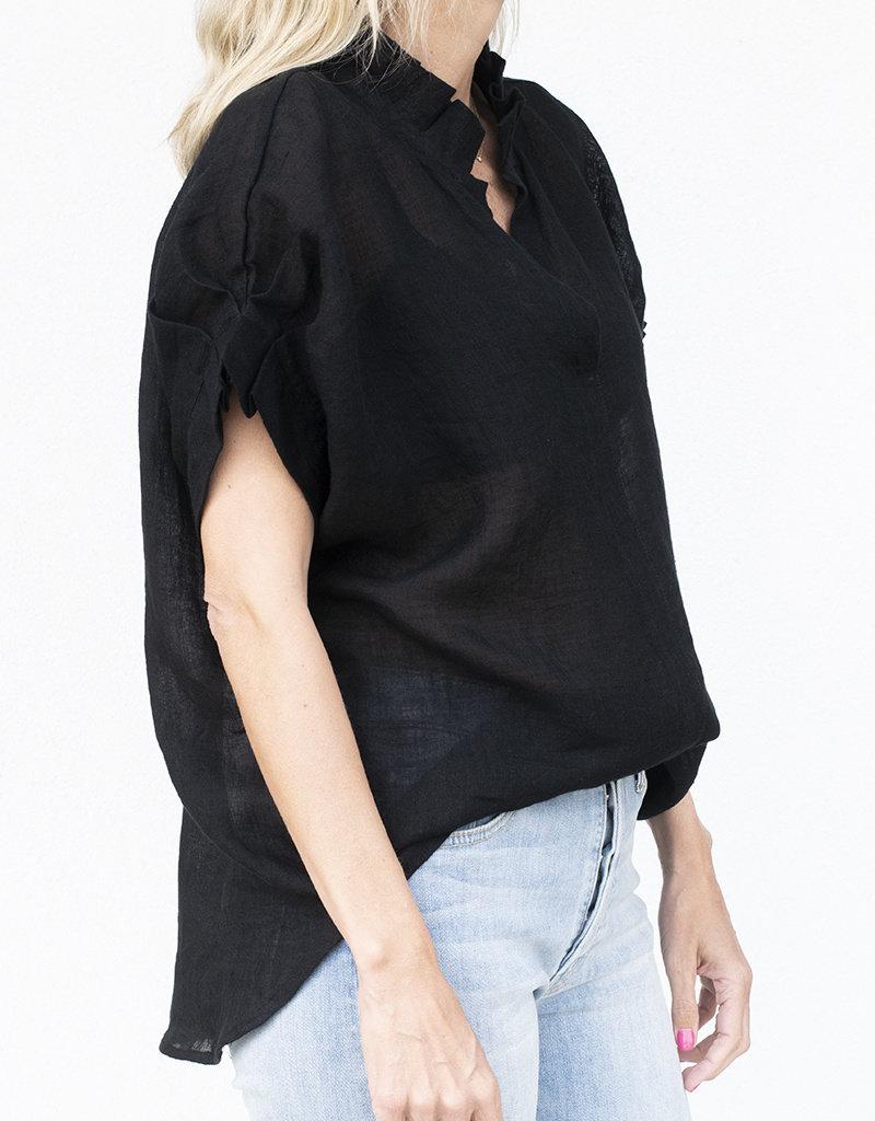 Jag Jewelry and Goods Renea-Black Linen