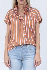 A Shirt Thing Stella-Orange Stripe