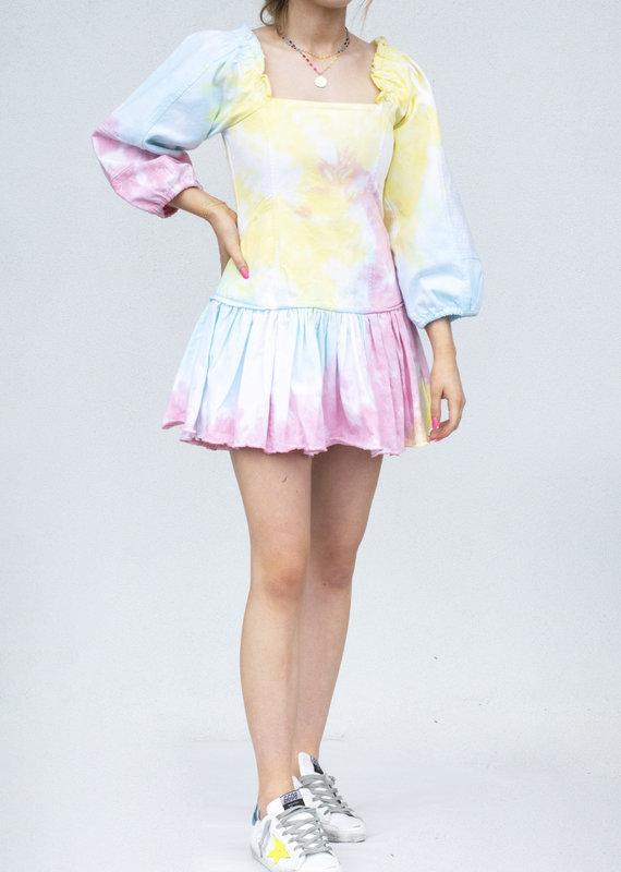 Love Shack Fancy Chai Dress- Rainbow