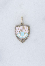 The Woods Fine Jewelry Pastel Pave Pendant