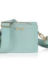 Bene Handbags The Fairfax-Mint Green Gator