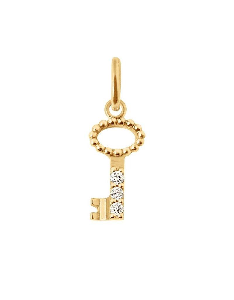 Gigi Clozeau Diamond Key Pendant GC345