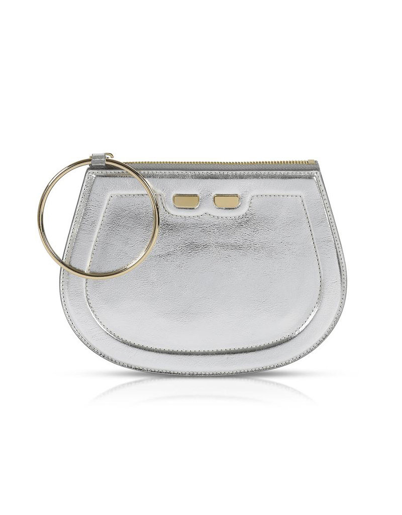 Bene Handbags The Ellie-Metallic Silver