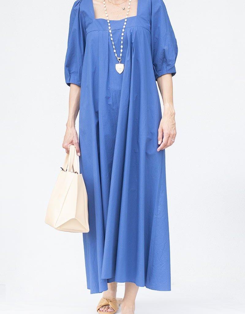 Hunter Bell NYC Waverly Dress Blue