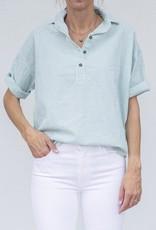 A Shirt Thing Delilah-Seersucker Green