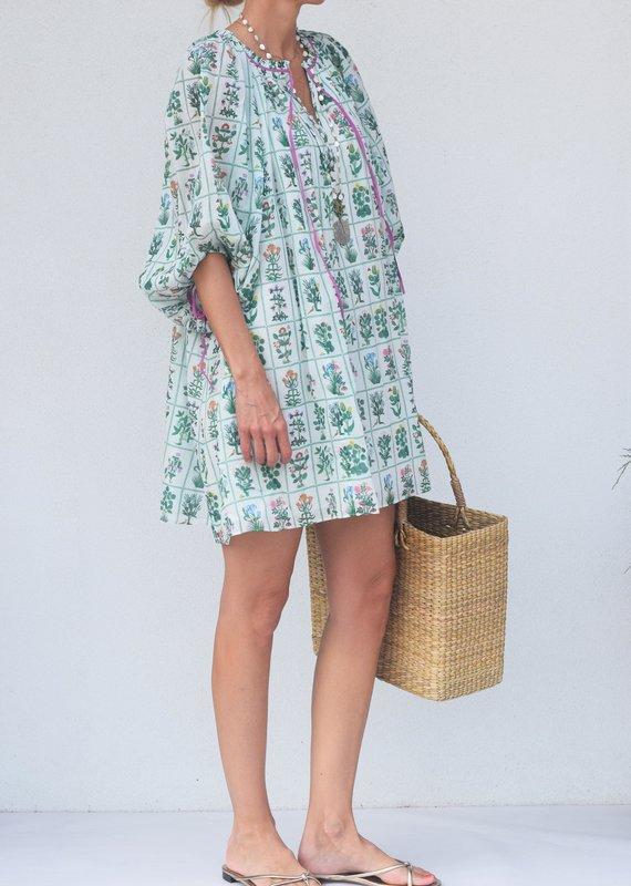 Rhode Resort Sadie Dress-Garden White