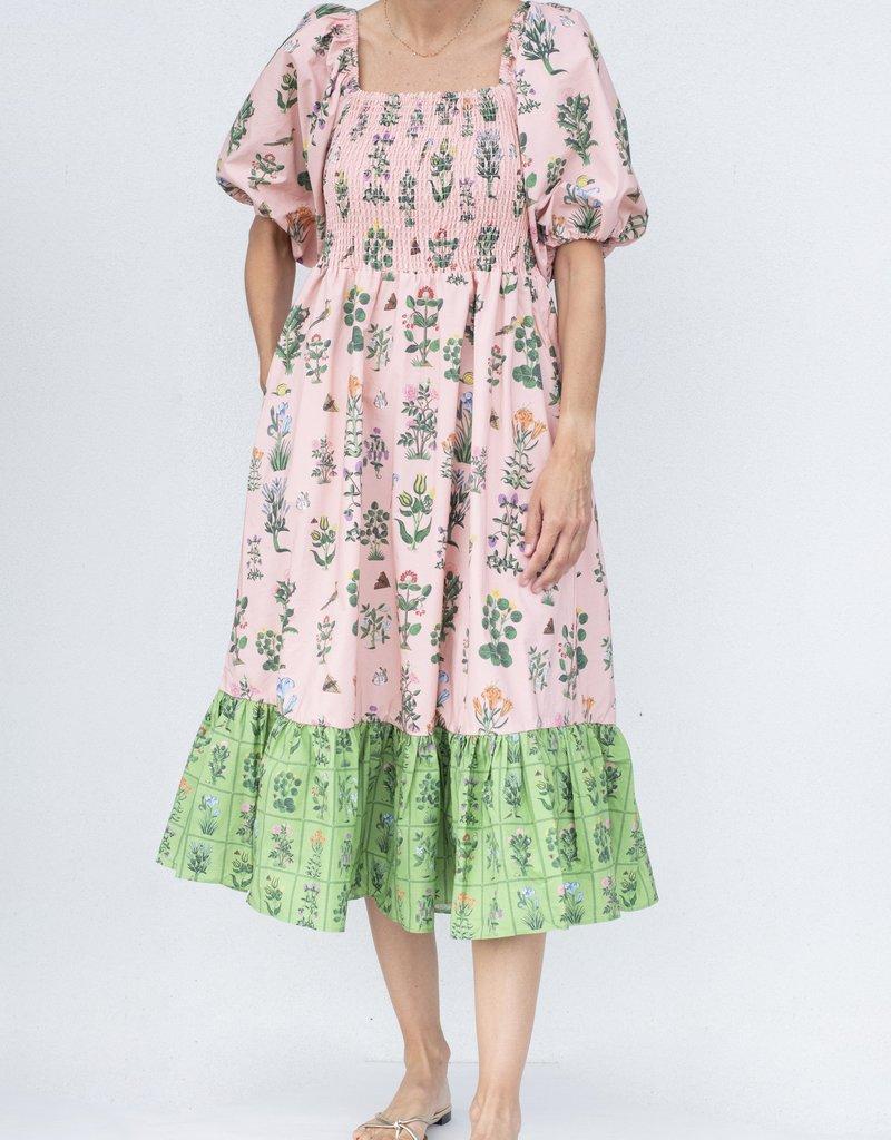 Rhode Resort Eloise Dress-Garden Pink