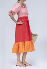 Rhode Resort Eloise Dress-Strawberry