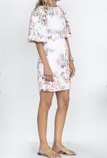 Cara Cara Bonnie Dress-Trellis Floral