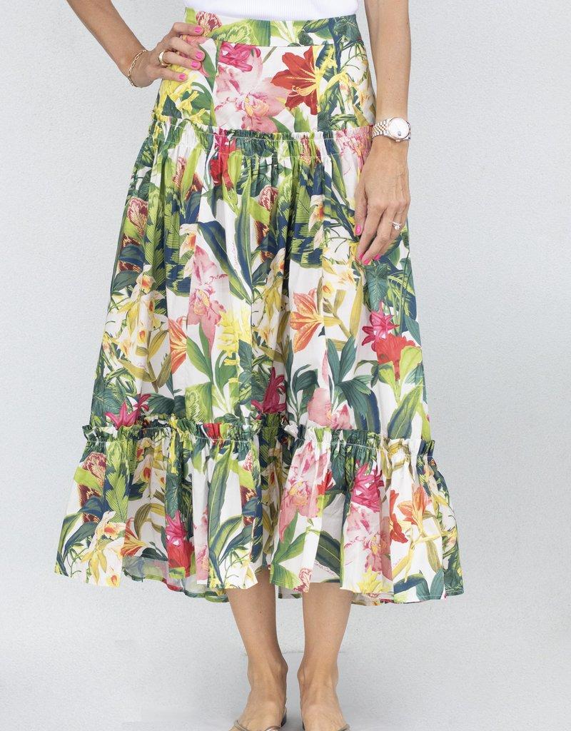 Cara Cara Tisbury Skirt-Rainforest