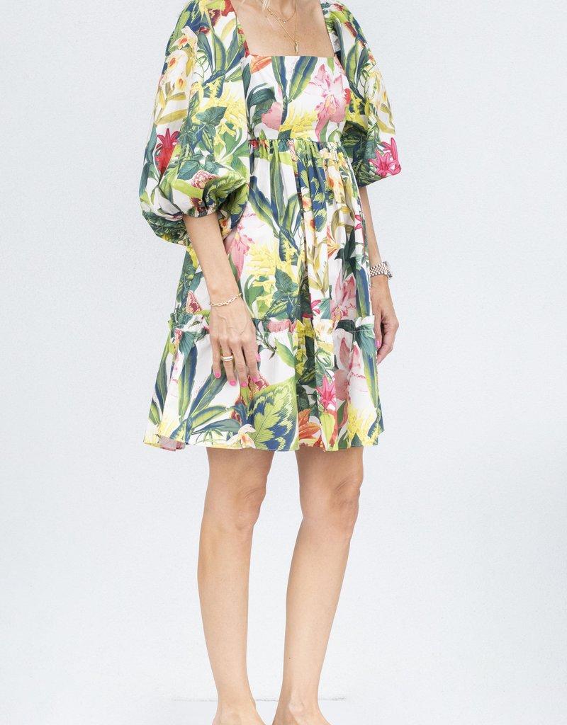 Cara Cara Sip Sip Dress-Rainforest