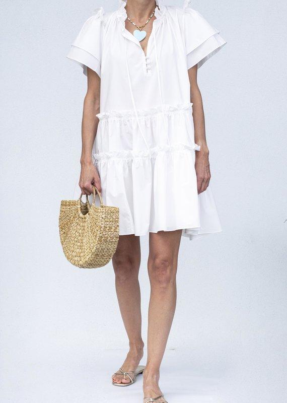Hunter Bell NYC Merritt Dress-White