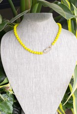 The Woods Fine Jewelry Yellow Beaded Necklace- Short