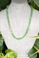The Woods Fine Jewelry Green Beaded Necklace- Long
