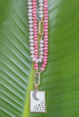 The Woods Fine Jewelry Coral Beaded Necklace- Long