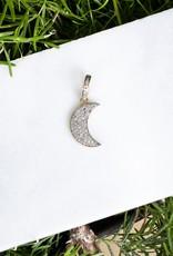 The Woods Fine Jewelry Mini Diamond Moon Pendant