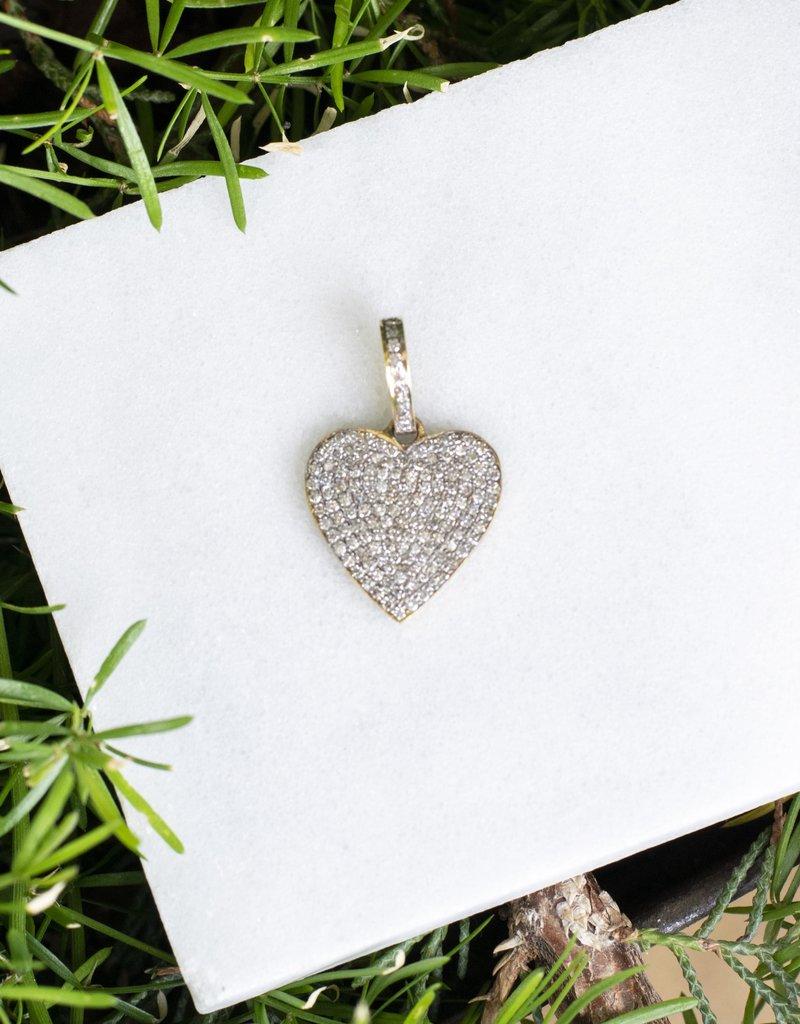 The Woods Fine Jewelry Mini Diamond Heart Pendant