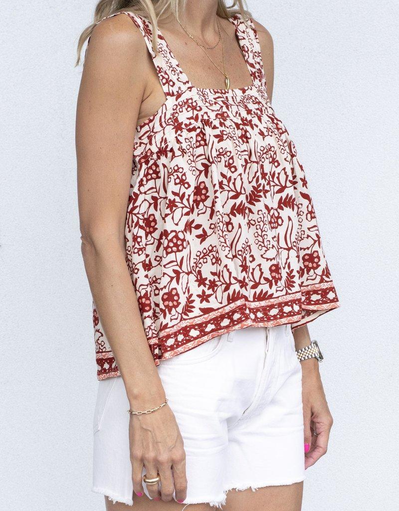 Natalie Martin Jasmine Top-Red