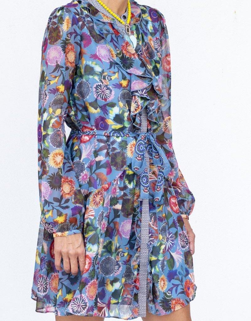 Saloni Tilly Ruffle C Dress