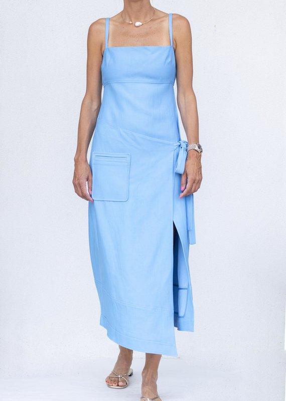 Alexis Laiza Dress-Blue
