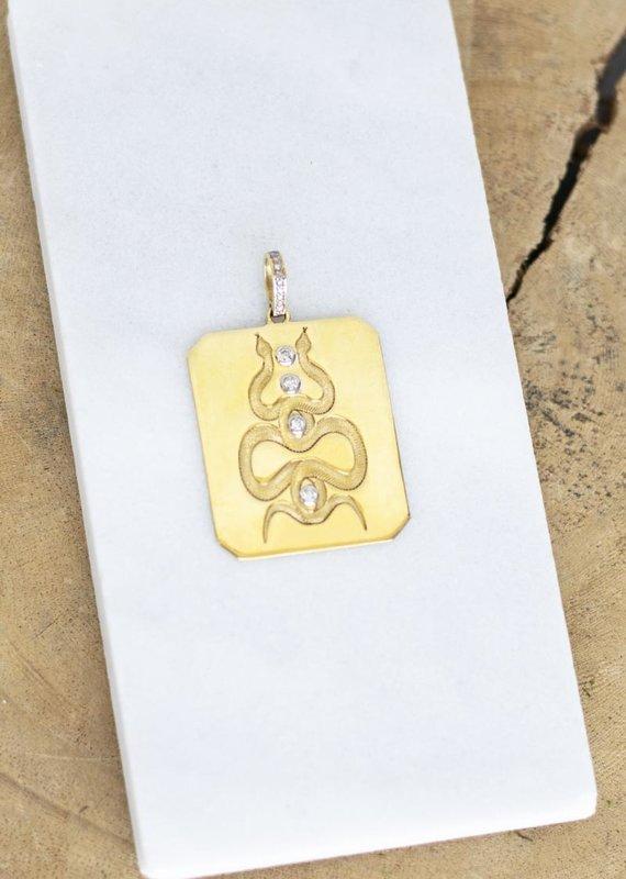 The Woods Fine Jewelry Snake Pendant