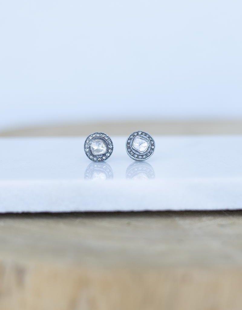 The Woods Fine Jewelry Small Diamond Studs