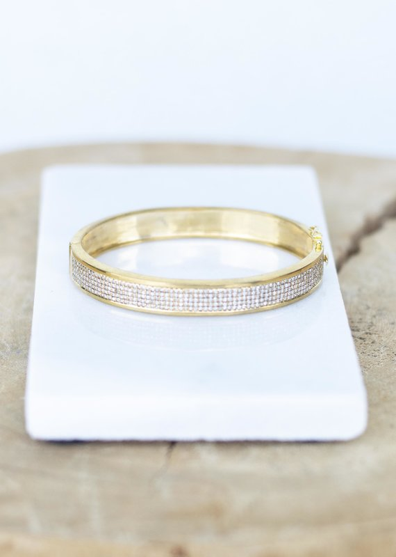 The Woods Fine Jewelry Gold and Diamond Bracelet