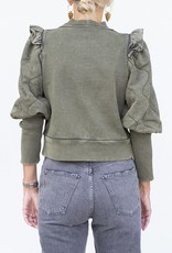 Sea NYC Layla Puff Slv Sweatshirt