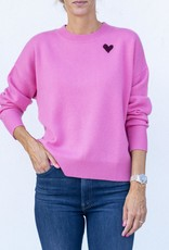 Kerri Rosenthal The Boyfriend Sweater-Pop Pink