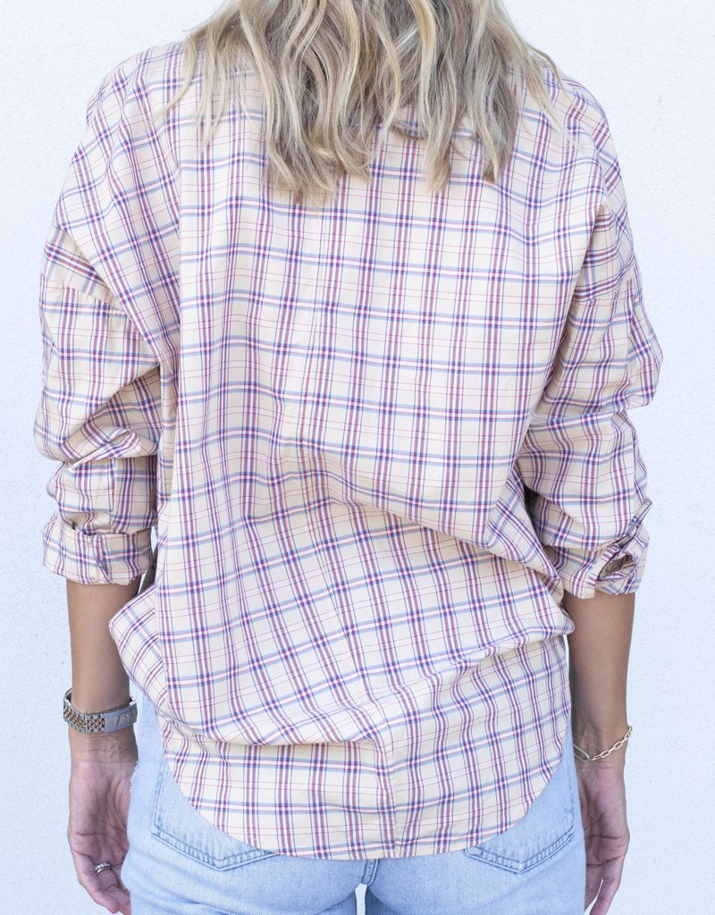 A Shirt Thing Penelope-Toast Plaid
