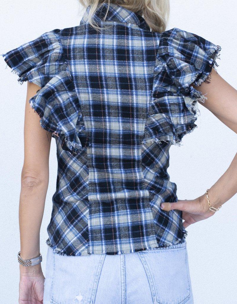 A Shirt Thing Charlotte-Navy