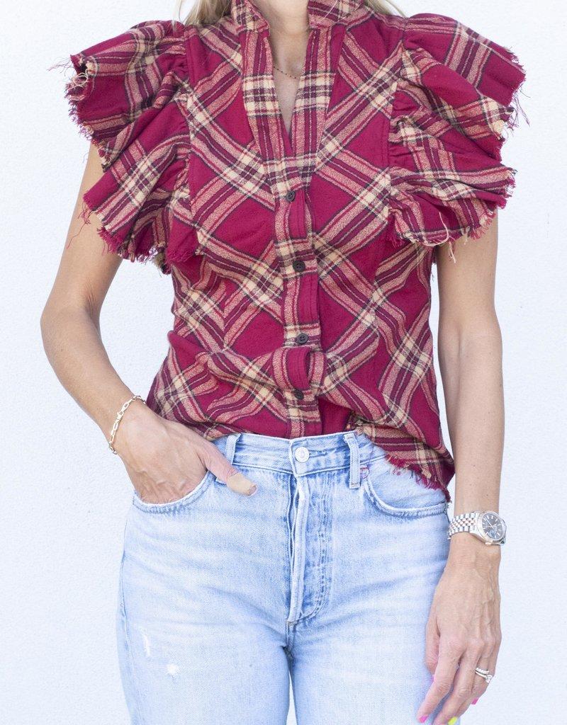A Shirt Thing Charlotte-Cranberry