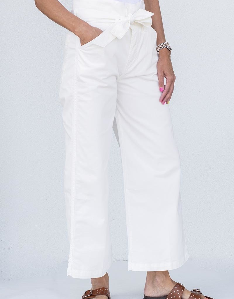 citizens of humanity Louvelle Belted Pant-Cream