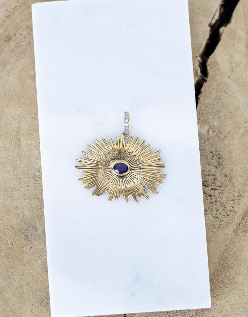 The Woods Fine Jewelry Sunburst Pendant