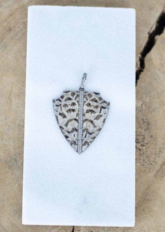 The Woods Fine Jewelry Arrowhead Pendant