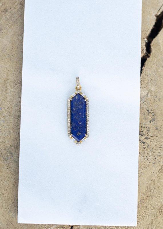 The Woods Fine Jewelry Lapis Pendant