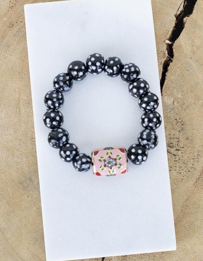 The Woods Fine Jewelry African Beaded Bracelet