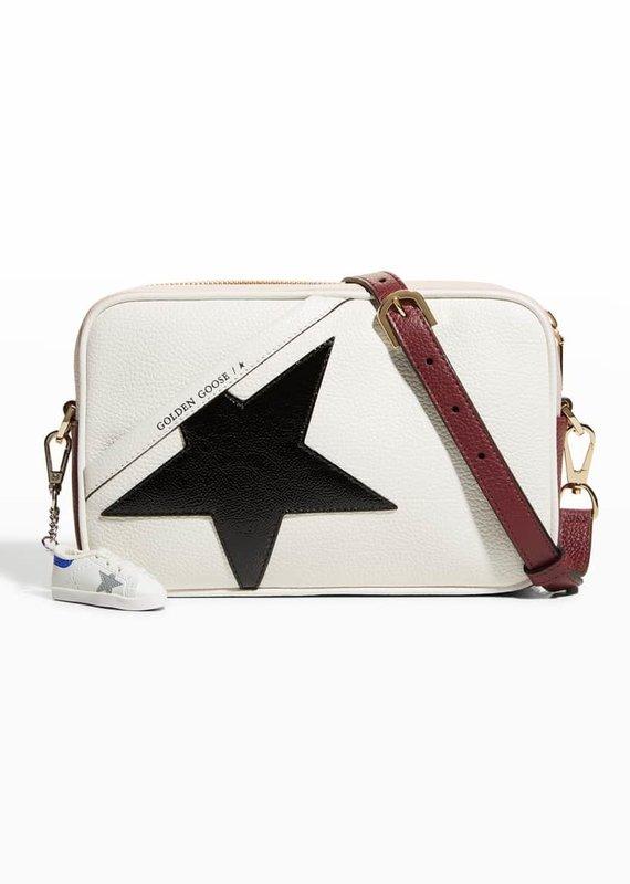Golden Goose Star Bag-White