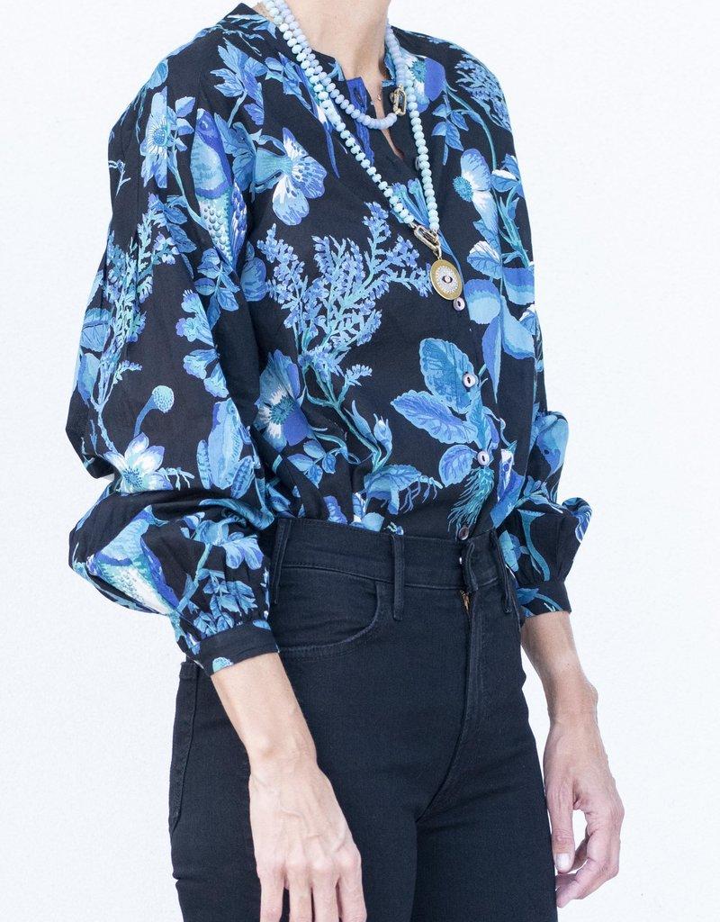 Banjanan Ella Shirt-Hedgerow Black