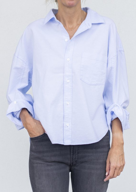 citizens of humanity Brinkley Shirt-Oxford blue