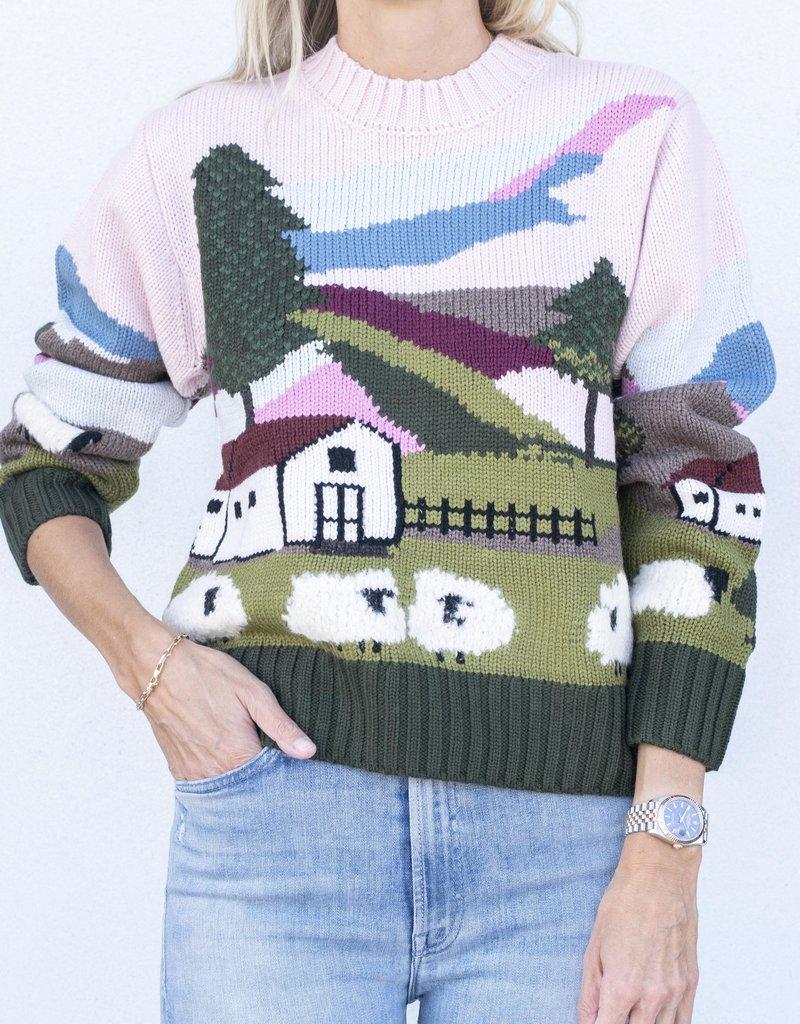 Sea NYC Reese Sheep Sweater