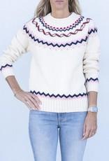 Trovata Patricia Sweater-White