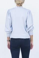 Ann Mashburn Coralie Top-Pale Blue