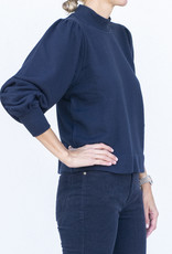 Ann Mashburn Coralie Top-Navy