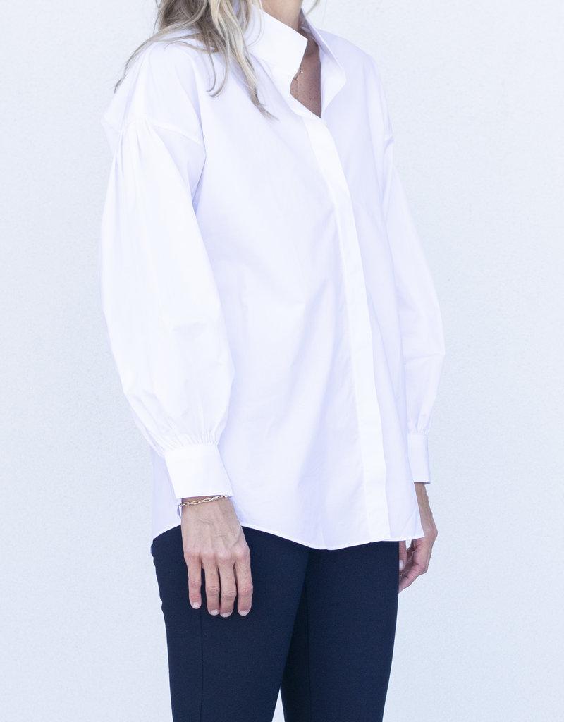 Ann Mashburn Mirabella Shirt-White