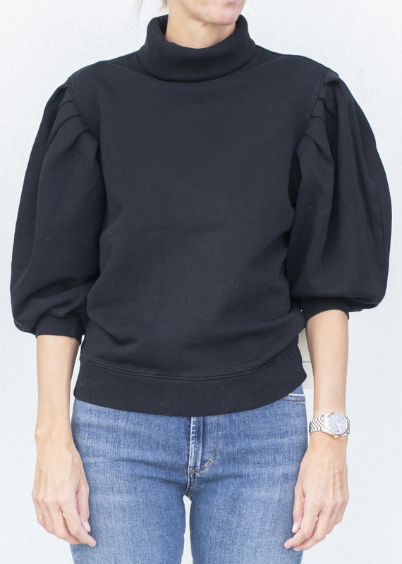 citizens of humanity Noeme Sweatshirt-Black