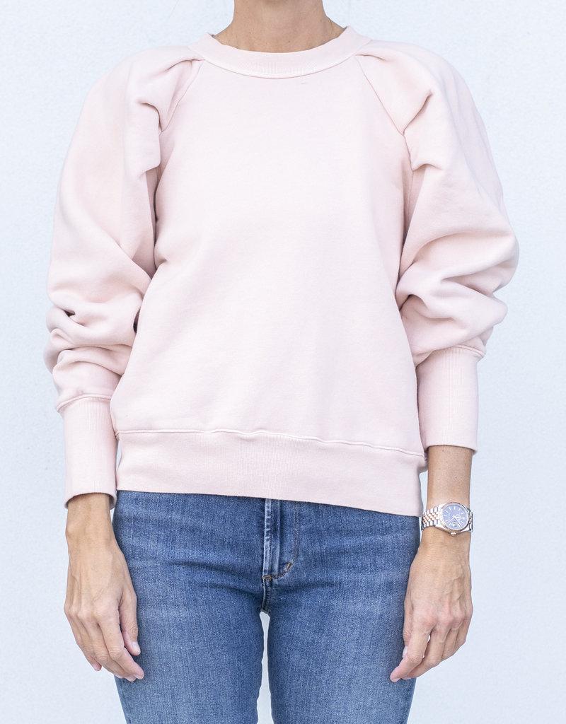 citizens of humanity Cascade Sleeve Sweatshirt-Pink