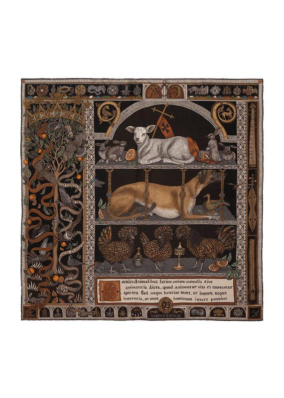 Sabina Savage 90x90 Medium Silk Faithful Lamb