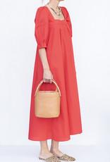 Hunter Bell NYC Waverly Dress-Cherry
