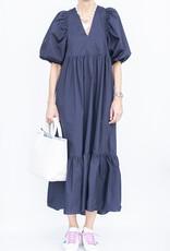 Hunter Bell NYC Palmer Dress-Navy